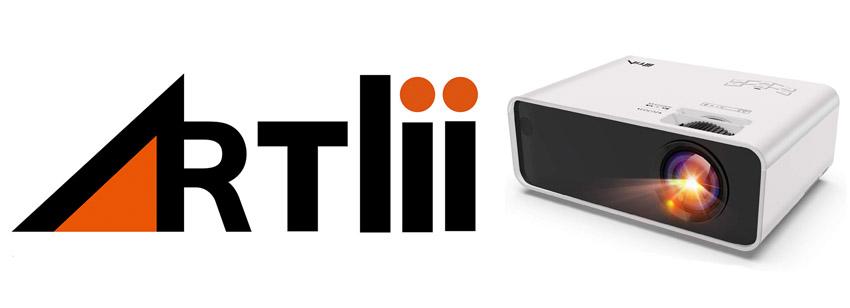 mini proyector artlii