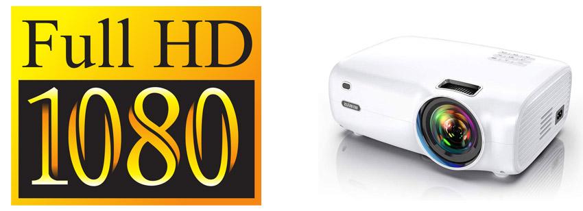 mini proyector 1080p full hd