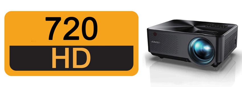 mini proyector 720p