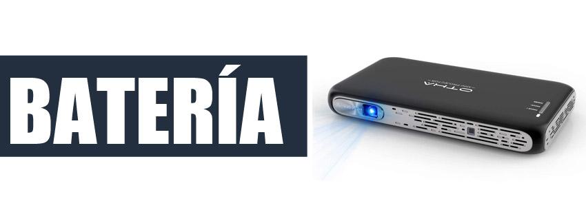 mini proyector bateria