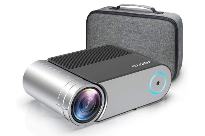 mini proyector Vamvo L4200