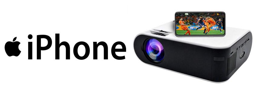 mini proyector iphone